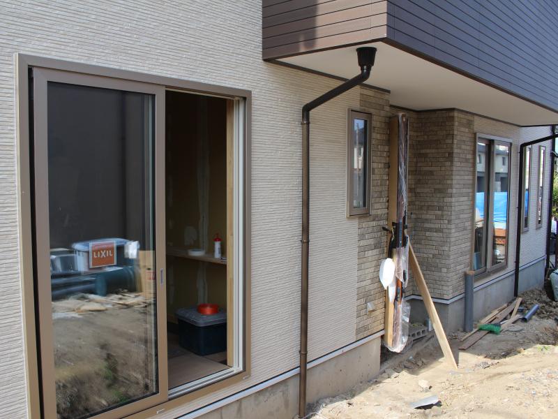 外壁~サッシ施工2